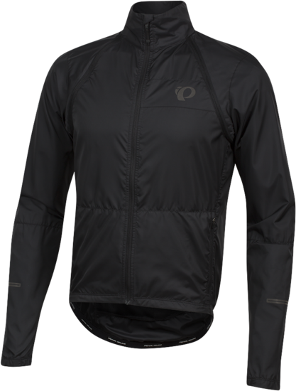 Pearl Izumi Men's ELITE Escape Convertible Jacket Color: Black