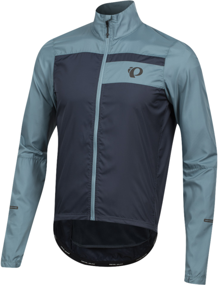 Pearl Izumi Men's ELITE Escape Barrier Jacket Color: Arctic/Midnight Navy