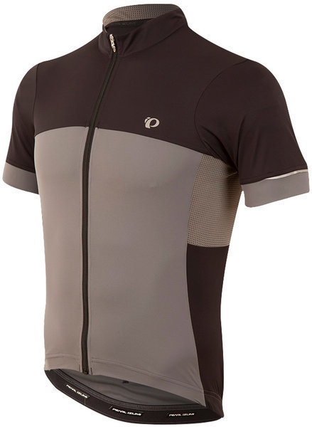 Pearl Izumi Men's ELITE Escape Jersey Color: Black / Smoked Pearl
