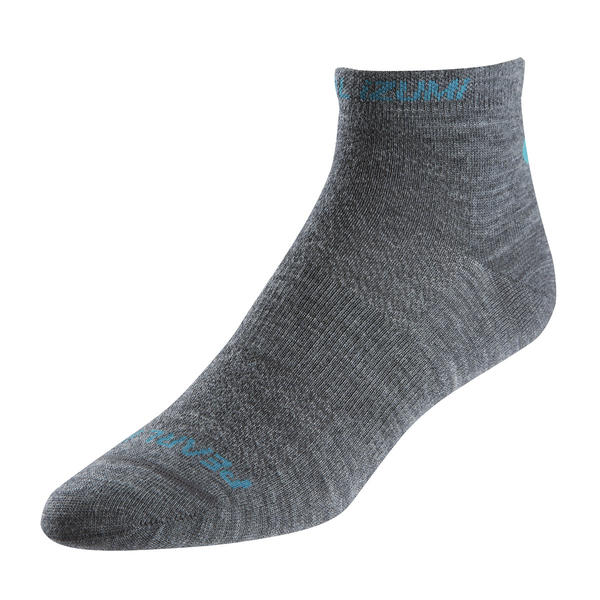 Pearl Izumi Elite Low Wool Socks - Women's Color: Shadow Gray