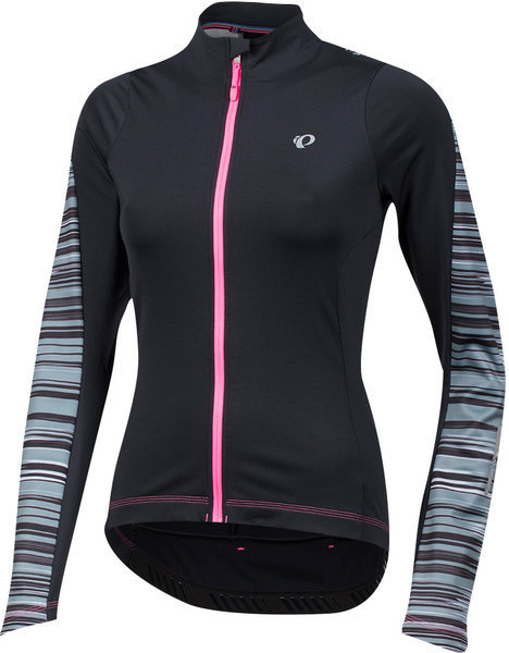 Pearl Izumi Women's ELITE Pursuit Thermal Jersey Color: Black Rush