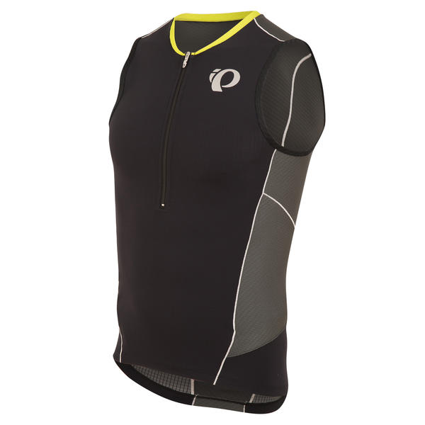Pearl Izumi ELITE Pursuit Tri Sleeveless Jersey Color: Black