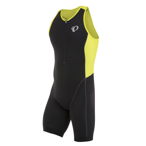 Pearl Izumi Elite Pursuit Tri Suit Color: Black/Lime Punch