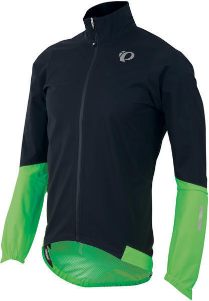 Pearl Izumi Men's ELITE Pursuit WxB Jacket Color: Black / Screaming Green
