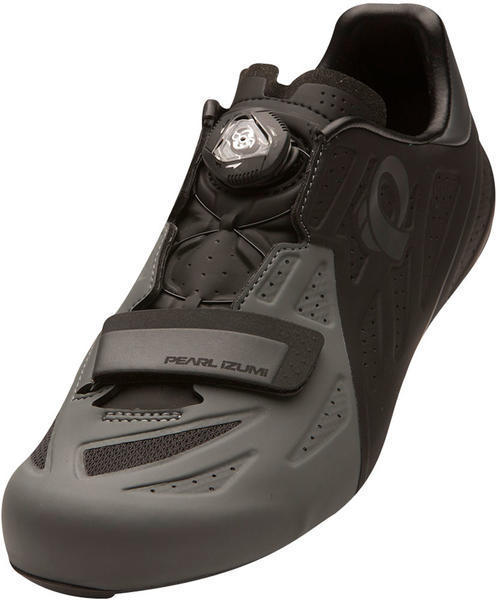 Pearl Izumi Men's ELITE Road v5 Color: Black / Shadow Grey