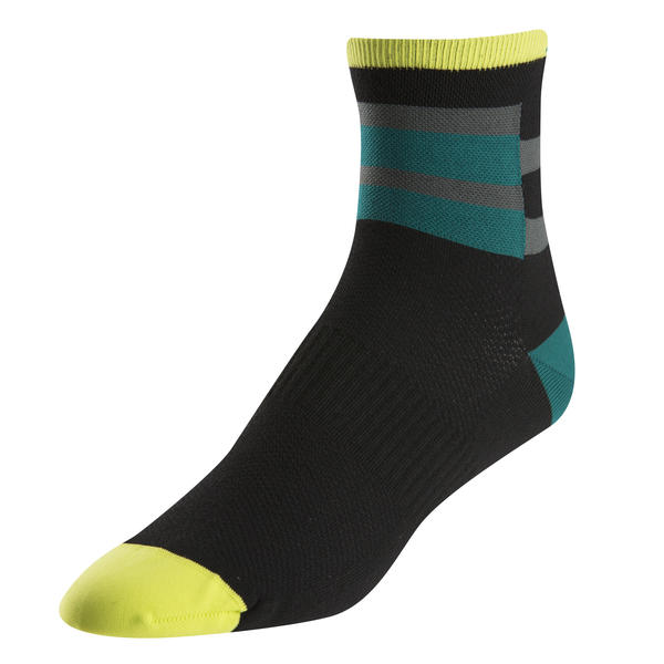 Pearl Izumi Men's ELITE Sock Color: Band Stripe Green