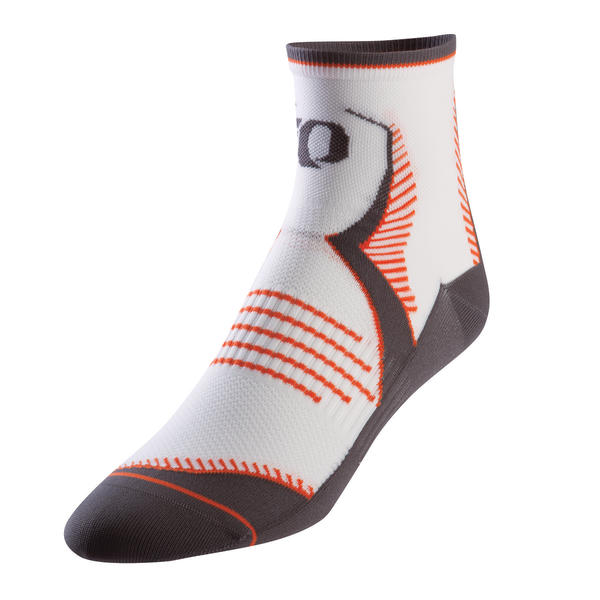 Pearl Izumi Elite Socks Color: Atomic White