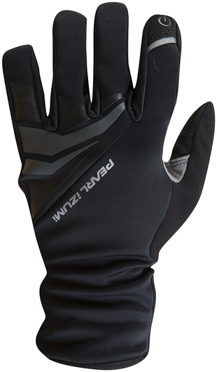 Pearl Izumi Men's ELITE Softshell Gel Gloves Color: Black