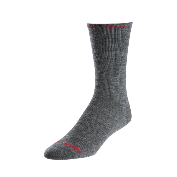 Pearl Izumi Elite Tall Wool Socks Color: Shadow Gray