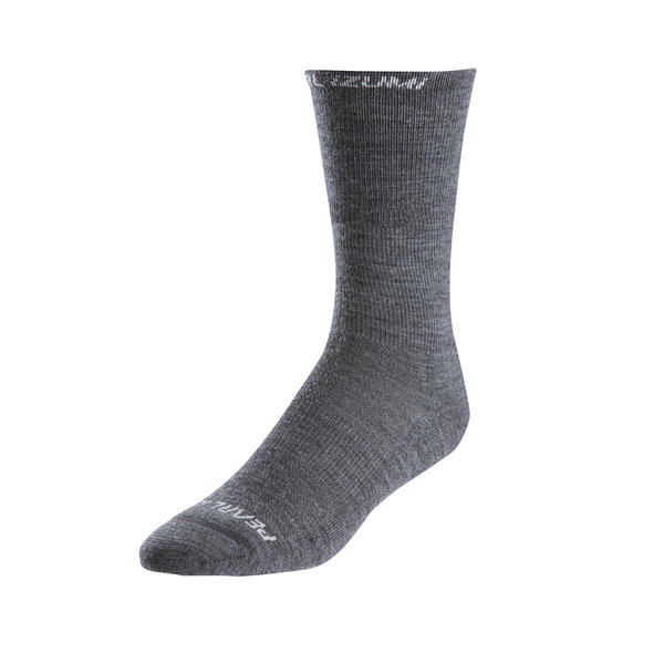 Pearl Izumi Elite Thermal Wool Socks Color: Shadow Gray