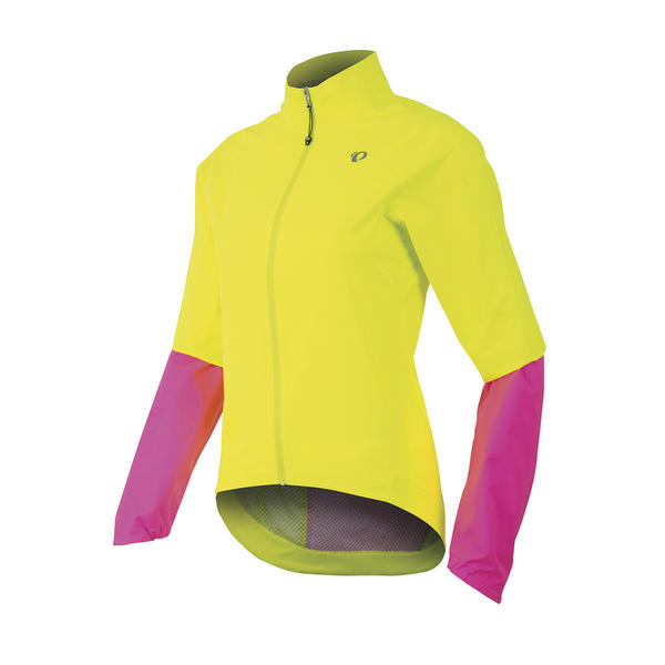 Pearl Izumi Women's Elite WxB Jacket Color: Screaming Yellow