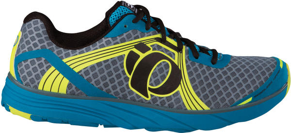 Pearl Izumi EM Road H3 Color: Shadow Gray/Screaming Yellow