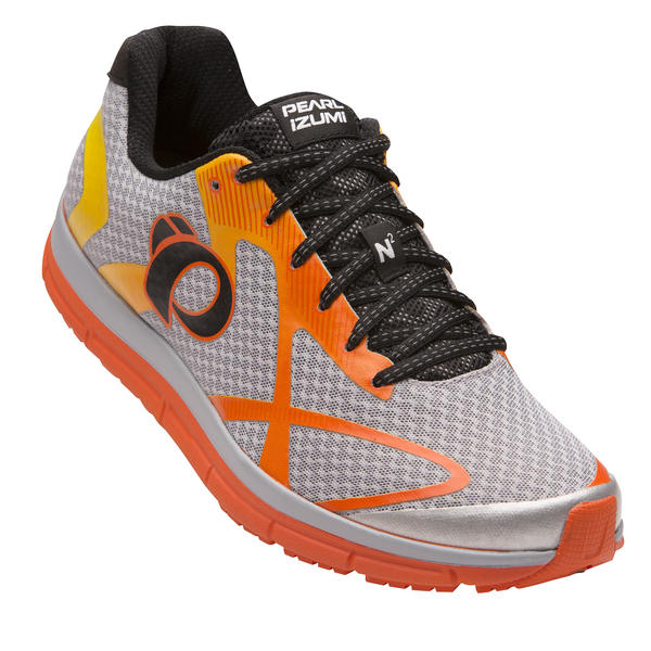Pearl Izumi EM Road N2 V3 Color: Silver/Red Orange
