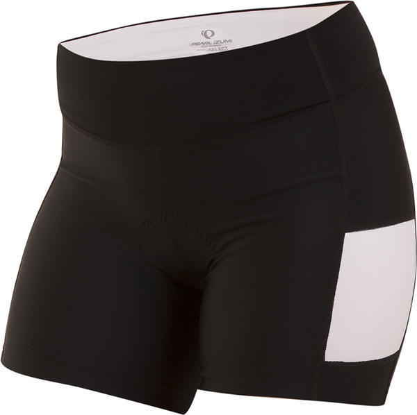 Pearl Izumi Women's Escape Sugar Short Color: Black / White