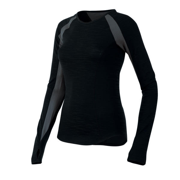 Pearl Izumi Flash Long Sleeve - Women's Color: Black/Shadow Gray
