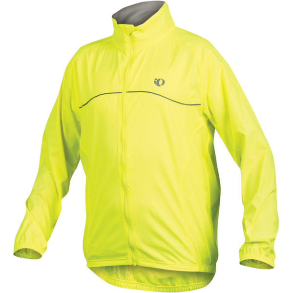 Pearl Izumi Junior Barrier Jacket Color: Screaming Yellow