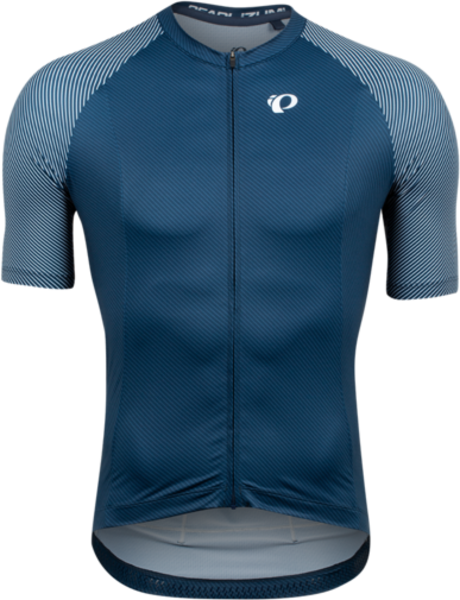 Pearl Izumi Men's Interval Jersey Color: Navy/White Bevel