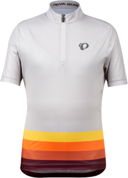 Pearl Izumi Junior Quest Jersey Color: Fog Aspect