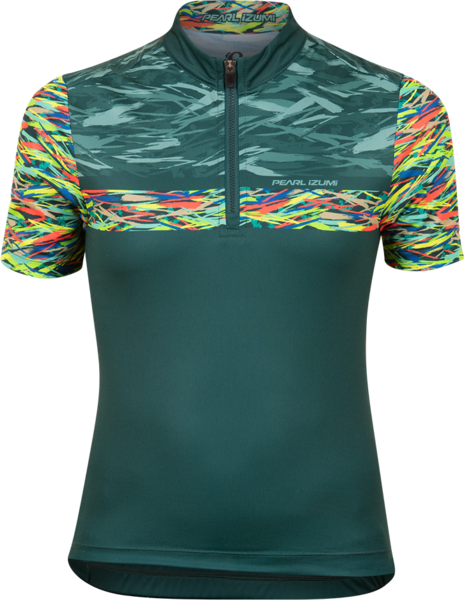 Pearl Izumi Junior Quest Jersey Color: Juniper Ripper
