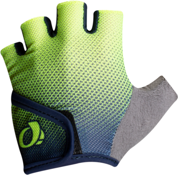 Pearl Izumi Kids' SELECT Glove Color: Navy/Screaming Yellow Transform