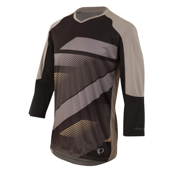 Pearl Izumi Launch 3/4 Sleeve Jersey Color: Black/Monument Grey