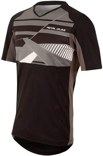 Pearl Izumi Men's Launch Jersey Color: Black / Smoked Pearl