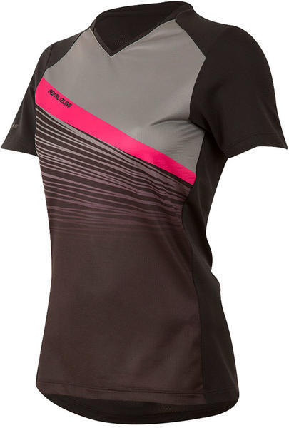 Pearl Izumi Women's Launch Jersey Color: Black/Smoked Pearl Fracture