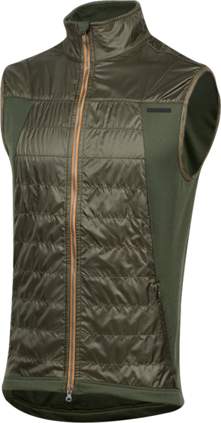 Pearl Izumi Men's BLVD Merino Vest Color: Forest