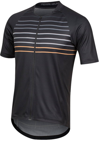 Pearl Izumi Men's Canyon Graphic Jersey Color: Black/Berm Brown Slope