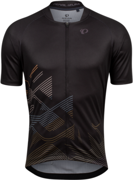 Pearl Izumi Men's Canyon Graphic Jersey Color: Black/Berm Brown Echo