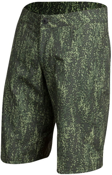 Pearl Izumi Men's Canyon Print Shorts Color: Forest/Willow Camo
