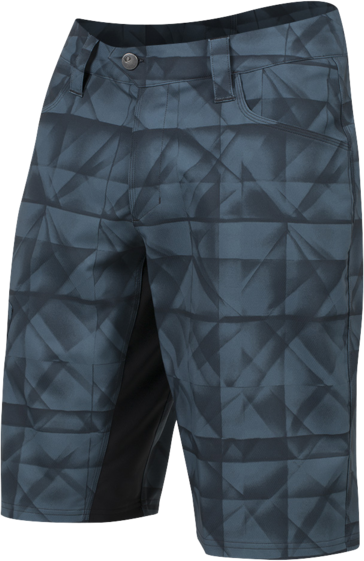 Pearl Izumi Men's Canyon Shorts Print Color: MN NY/RFRCTD