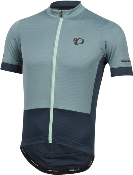 Pearl Izumi Men's ELITE Escape Jersey Color: Arctic/Midnight Navy
