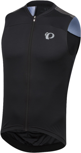 Pearl Izumi Men's ELITE Pursuit Sleeveless Jersey Color: Black Diffuse