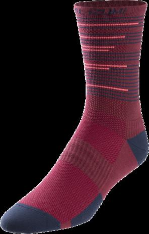 PEARL iZUMi Unisex Pi Core Red Elite Tall Sock Size Large