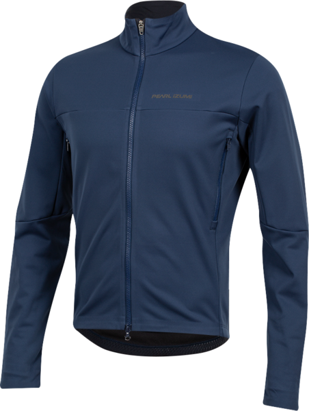 Pearl Izumi Men's INTERVAL AmFIB Jacket Color: Navy One