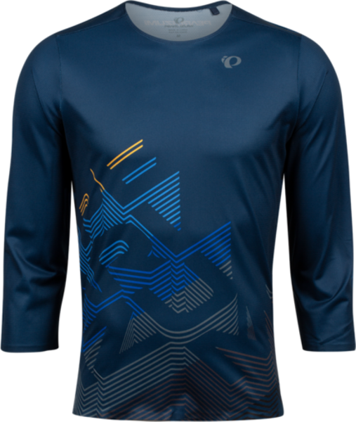 Pearl Izumi Men's Launch 3/4 Sleeve Jersey Color: Navy Echo