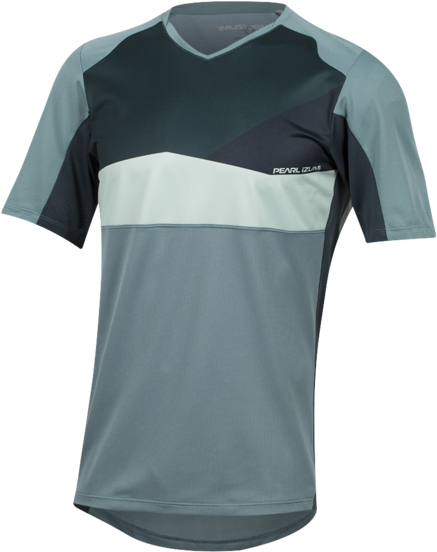 Pearl Izumi Men's Launch Jersey Color: Arctic/Sea Moss Wave