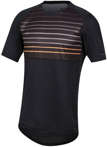 Pearl Izumi Men's Launch Jersey Color: Black/Berm Brown Slope