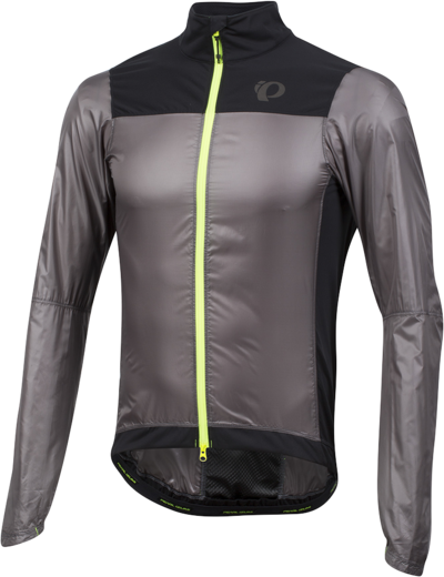 Pearl Izumi Men's P.R.O. Barrier Lite Jacket Color: Smoked Pearl / Black