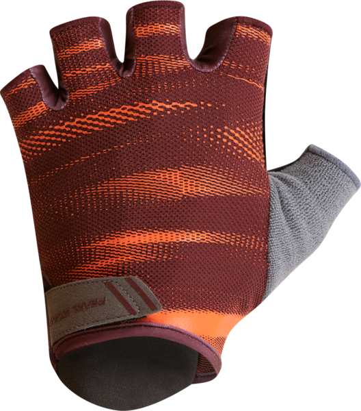 Pearl Izumi Men's SELECT Glove Color: Redwood/Sunset Cirrus