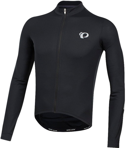 Pearl Izumi Men's SELECT Pursuit Long Sleeve Jersey Color: Black
