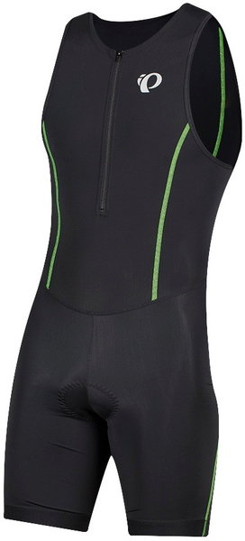 Pearl Izumi Men's SELECT Pursuit Tri Suit Color: Black/Screaming Green