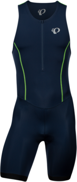 Pearl Izumi Men's SELECT Pursuit Tri Suit Color: Navy/Screaming Yellow