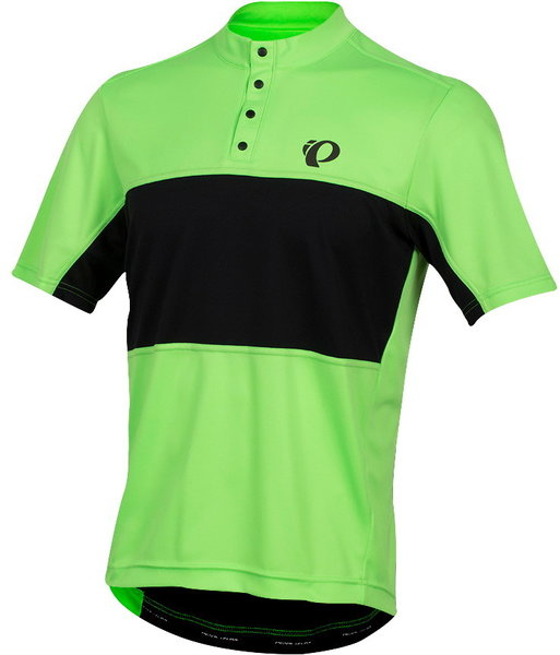 Pearl Izumi Men's SELECT Tour Jersey Color: Screaming Green/Black