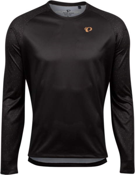 Pearl Izumi Men's Summit Long-Sleeve Shirt Color: Black/Berm Brown Spec