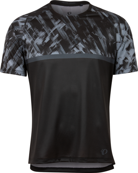 Pearl Izumi Men's Summit Top Color: Black/Dark Ink Disrupt