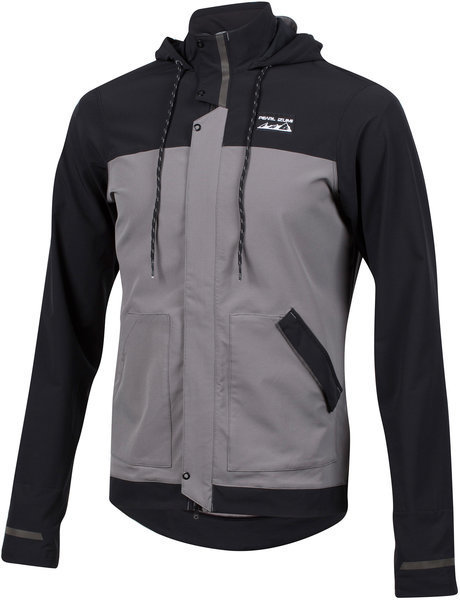 Pearl Izumi Men's Versa Barrier Jacket Color: Black/Smoked Pearl