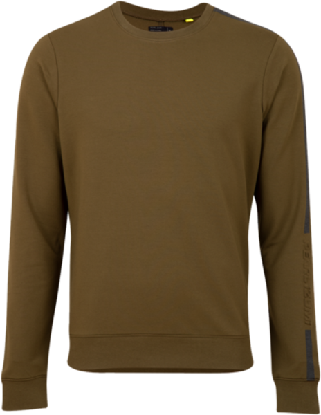 Pearl Izumi Men's Vista Fleece Pullover Color: Dark Olive/Black