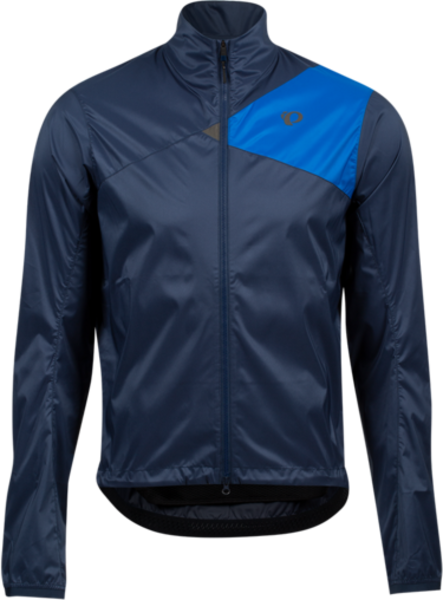Pearl Izumi Men's Zephrr Barrier Jacket Color: Navy/Lapis
